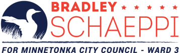 Bradley Schaeppi for Minnetonka City Council